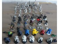 MIXED LOT OF OVER 60 D&D & GAMES WORKSHOP EARLY 80s & 90s MINIATURE FIGURINES, used for sale  Stoke-on-Trent, Staffordshire
