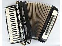 Scandalli Accordion - 41 / 120 Bass - 4 Voice D/O (LMMH) with Mute