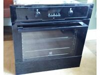 Electrolux electric oven, hob and cooker hood. New, ex display