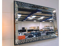 Brand New GEORGE Mirror - ONLY £147.50! Mirror Size: 60 cm x 90 m Overall Size: 72 cm x 102 cm