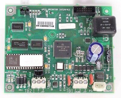 Trane Universal Upcm Operator Interface Module 50100829 R11 Circuit Board