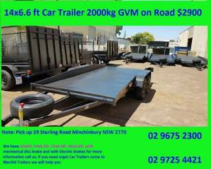 14x6.6 feet Car Trailer with GVM 2000 kgs on Road $2900 Minchinbury Blacktown Area Preview