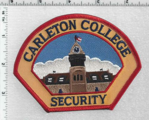 Carleton College Security (Minnesota) 1st Issue Shoulder Patch