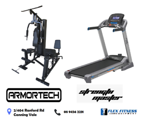 Ultimate Family Home Gym and Treadmill Package