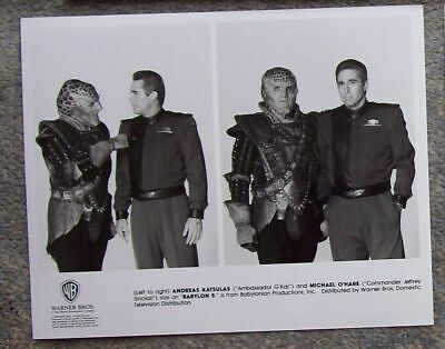 BABYLON 5 Orig 2nd Season WB TV Press Photo SINCLAIR G'KAR '93