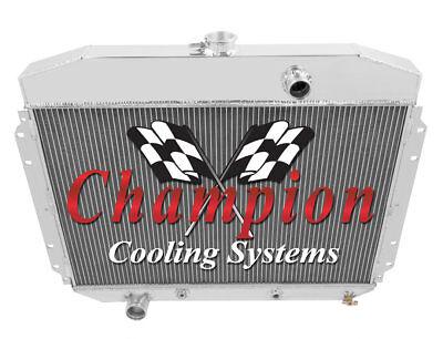 1961 62 63 64 Ford F100 Pickup Truck V8 Champion 3 Row Aluminum Radiator CC8164