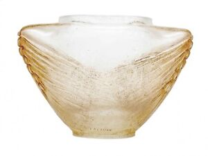 c1913-R-Lalique-Lost-Wax-Cire-Perdue-CP-66-Deux-Epis-De-Ble-Vase-One-of-a-Kind