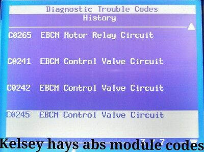 2002 GMC YUKON WITH A KELSEY HAYS 325 ABS Module TEST AND REPAIR EBCM