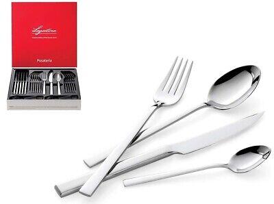 Servizio posate 24 pezzi Lagostina Giada forchetta cucchiaio coltello inox Rotex