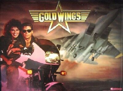 GOLD WINGS Complete LED Lighting Kit SUPER BRIGHT PINBALL LED KIT