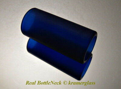 Best Real BottleNeck Guitar Slide Matte Finish 2 1/4 Resonator Acoustic Electric