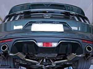 Catback Valved Exhaust System Ford Mustang 2.3 Turbo Eco Boost Russell Vale Wollongong Area Preview