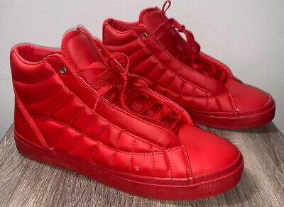 Zara Men's red high top Sneakers Shoe SIZE EU 43
