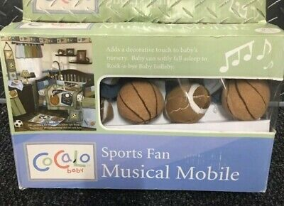 Cocalo baby sport fan musical mobile