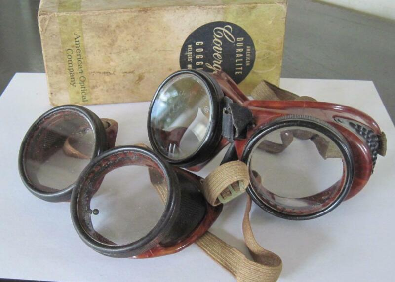 Two American Optical Company Duralite Coverglas Welder