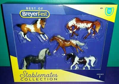NIB Breyer Stablemates BF 2020 Special Run Set--Best of BreyerFest-Series 1