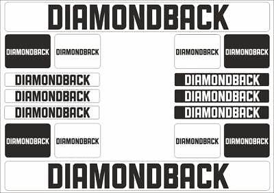 Diamond Back DB Handlebar Decal Sticker Gold Seat Post Fork Save $5 // 2 Pairs