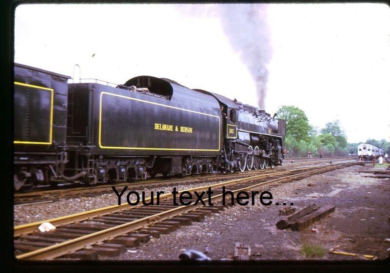 f646 Orig. Slide Delaware & Hudson Steam 302 Tuxedo, NY 1973