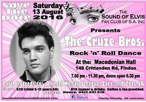 Elvis Rock 'n' Roll Memorial Dance Findon Charles Sturt Area Preview