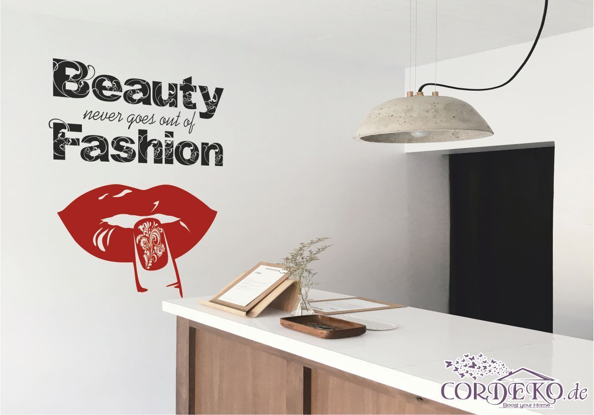 Beauty Salon Nagelstudio Wandtattoo Haarstudio Büro Praxis Nagel Studio Decal