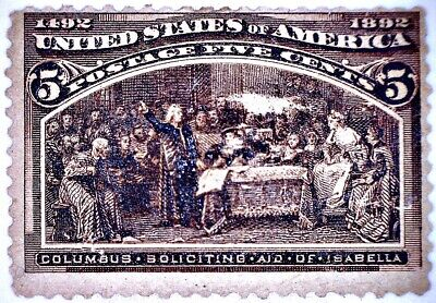 CatalinaStamps: US Stamps #234 MH - Thin, CV$125, Lot A6