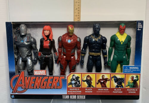 Marvel Avengers Titan Hero Series Exclusive 5 Figure Set