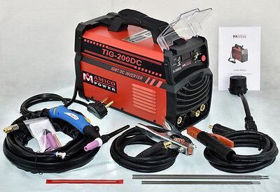 Amico Tig-200dc 200 Amp Tig-torch Stick Arc Welder 115230v Dual Voltage Welding
