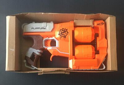 Nerf Zombie Strike FlipFury Blaster Hand Cannon Boy's Toy Dart Guns