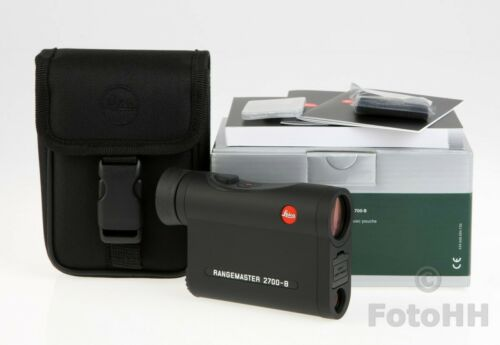 LEICA RANGEMASTER CRF 2700-B (LEICA NUMBER : 40545) / NEW IN BOX WITH WARRANTY !