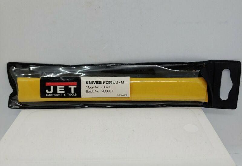Jet Equipment and Tools Model JJ6-K Knives for JJ-6 Jointer 3 pcs. New Sealed.