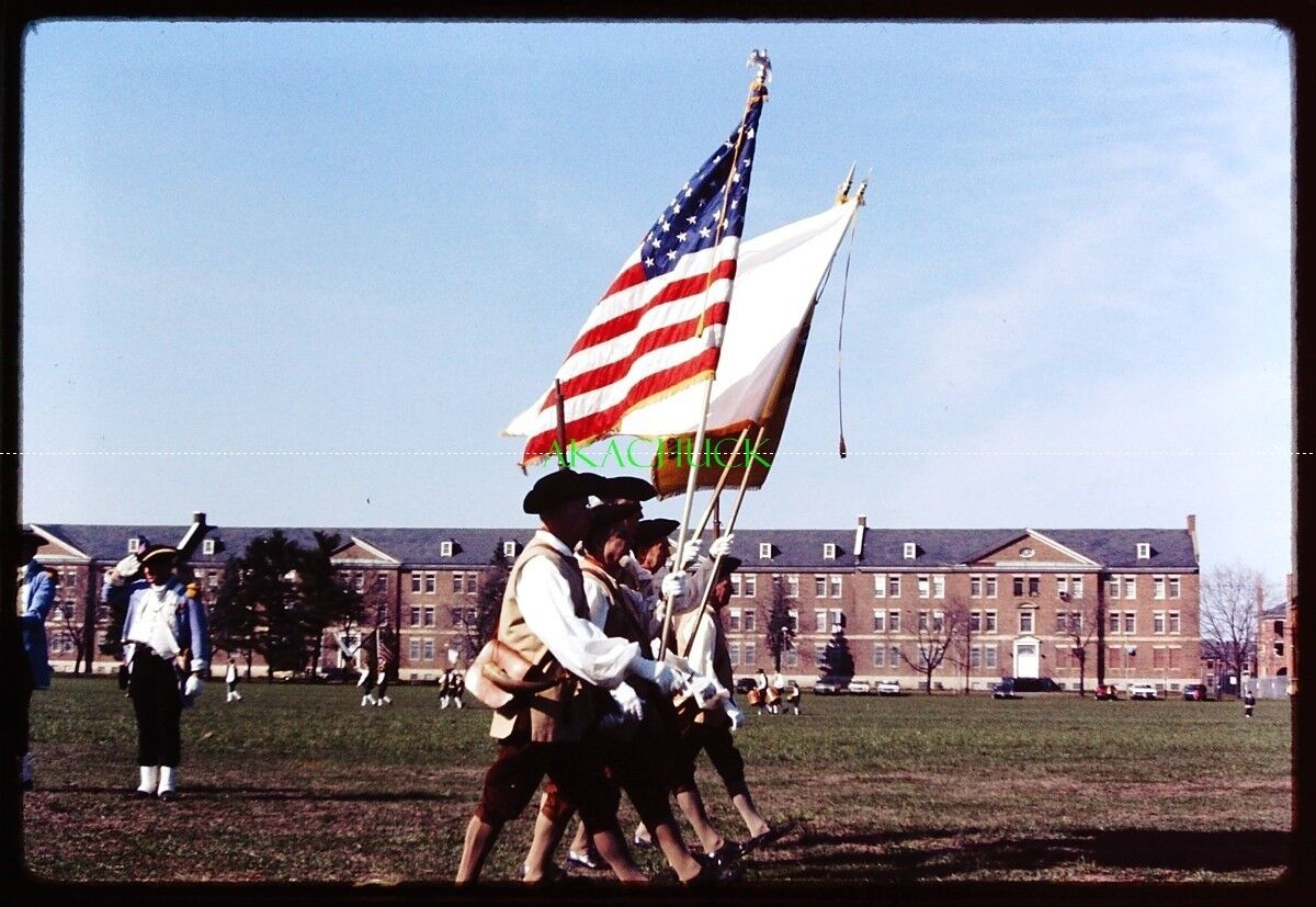 42 35mm Slides PATRIOTS DAY FORT DEVENS MA 1974