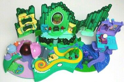 Polly Pocket Wizard of Oz Play Set Light Up 2001 Turner Entertainment, Rare