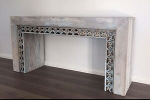 Unique Hand Made Indian Console Hall Table Greenmount Mundaring Area Preview