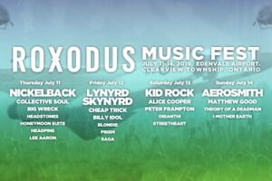 Roxodus all in Weekend Tickets!!