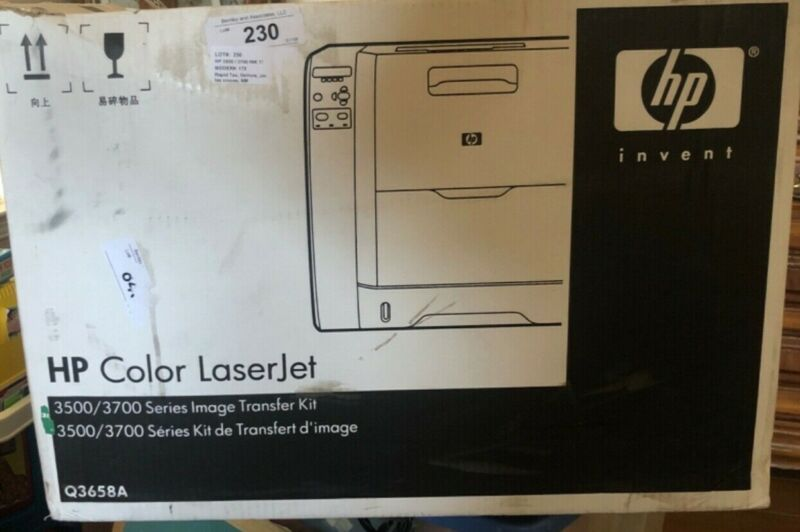 OEM HP Q3658A Color Laserjet Image Transfer Kit 3500 3700 Series