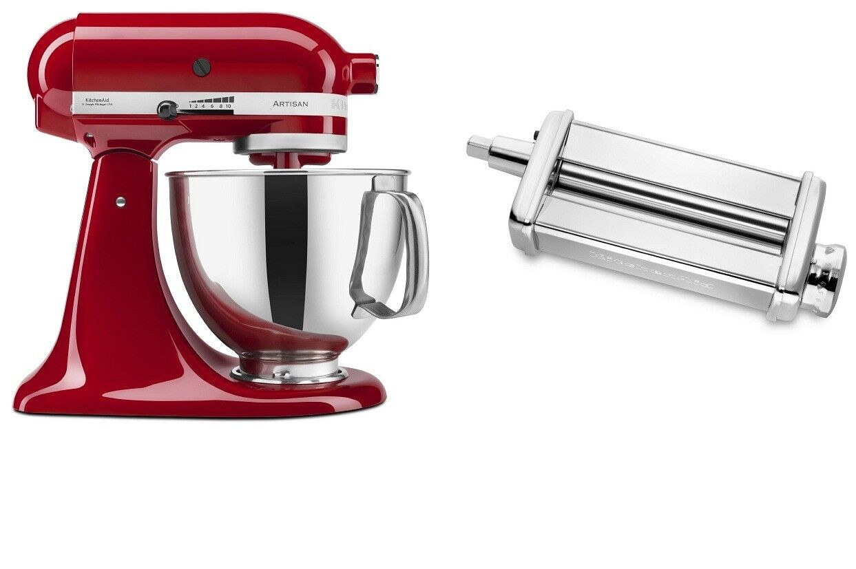 Kitchenaid Artisan 5 Qt Tilt Stand Mixer And Kpsa Pasta