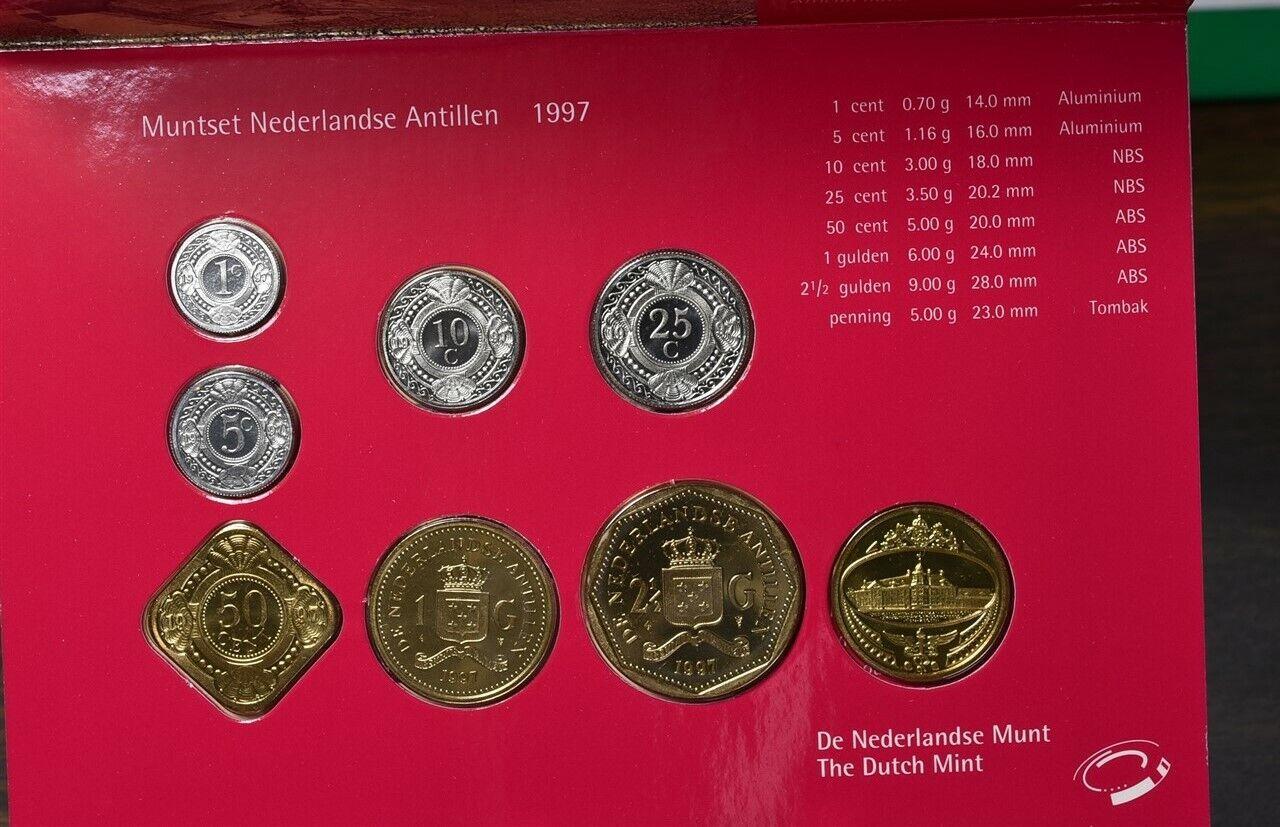NETHERLANDS 1997 MINT SET B18 BX3-163