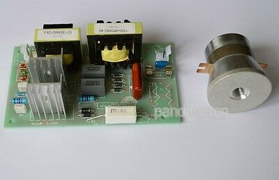 New1pc 60w 40khz Ultrasonic Transducer Cleaner 1pc Power Driver Board 110vac