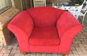 Plush Lounge Chair Kallaroo Joondalup Area Preview
