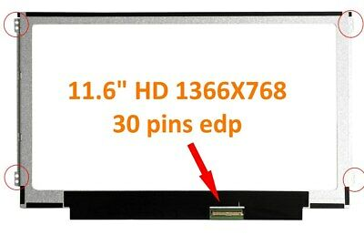"11.6"" HD Slim 30 PINSCompatible with BOE NT116WHM-N42 V8.0 NT116WHM-N21 V4.1"