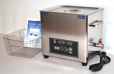 Dsa280se-gl1 10l 880w 20khz Or 40khz Heated Industrial Ultrasonic Parts Cleaner