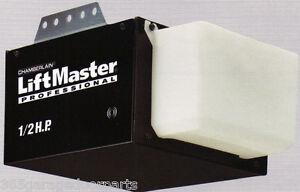 LiftMaster 1355/8065 Garage Door Opener 1/2 HP Chain Drive W/O Rail