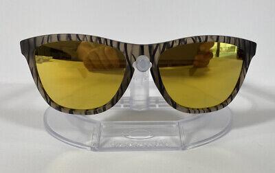 New Oakley Frogskin Sunglasses Matte Sepia w/ 24K Iridium OO9013-67
