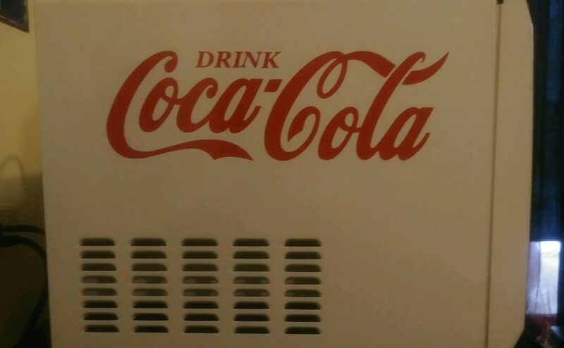 BEST PRICE on Coca-Cola decal 15inch RED sticker coke