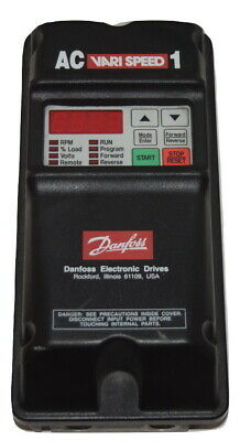 Danfoss 175l1503 Ac Vari Speed 1 1hp Variable Speed Motor Frequency Drive Vfd