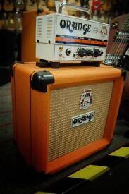 Orange micro terror head & orange ppc 108 cab Mini Stack
