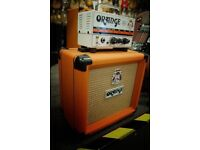 Orange micro terror head & orange ppc 108 cab Mini Stack