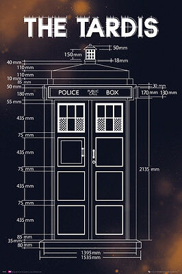 Poster DOCTOR WHO - The Tardis Plan  ca60x90cm NEU 58460
