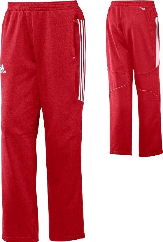 adidas Männer Jogginghose rot, HerrenTrainingshose, Sporthose Gr.XS,S,M,L,XL,2XL