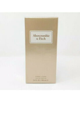 Abercrombie & Fitch First Instinct Sheer Woman Fragrance Parfum 3.4 fl oz Sealed